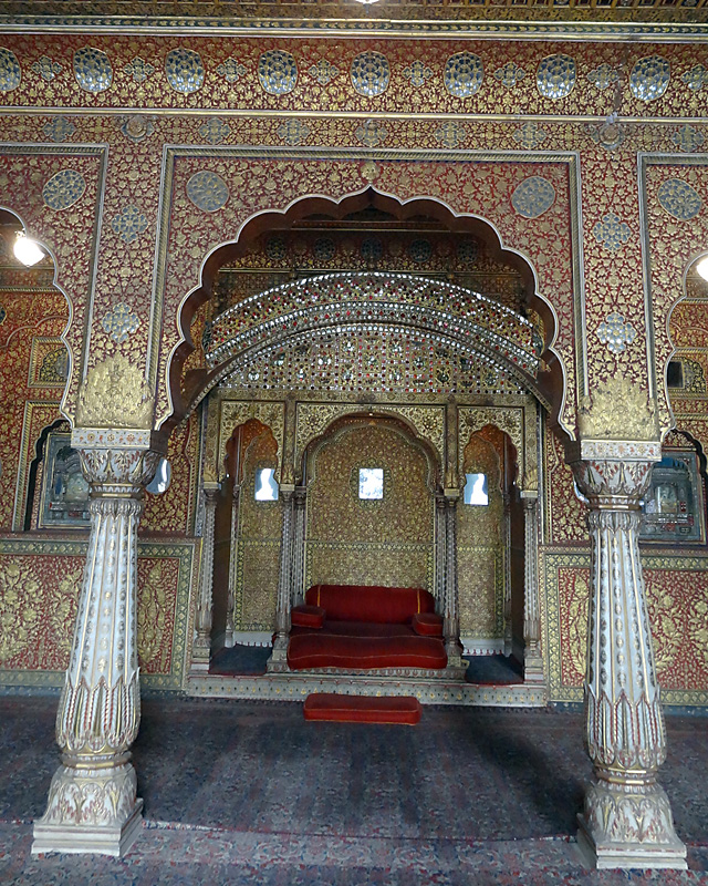 rajasthan palace interior decoration
