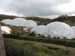 The Eden Project is situated in a disused china-clay pit