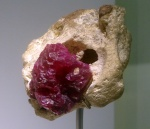 Beautiful and precious - an uncut ruby