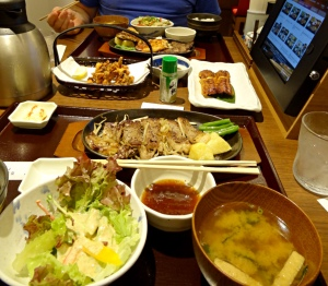 Japanese restaurant chains offer a wide choice of delicious food